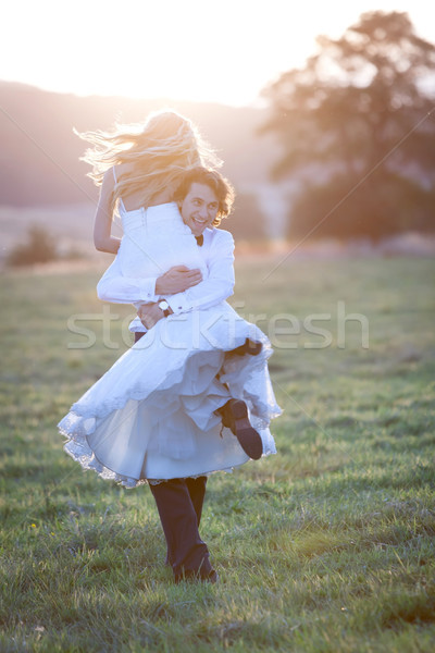 Young and free Stock photo © blanaru