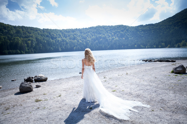 The princess of the lake Stock photo © blanaru