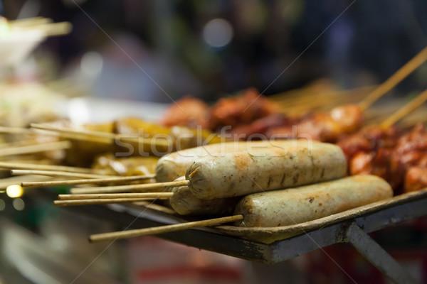 Thailand street food vers voedsel Bangkok stad Stockfoto © blanaru