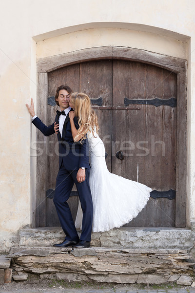 When I saw you I fell in love, and you smiled because you knew. Stock photo © blanaru