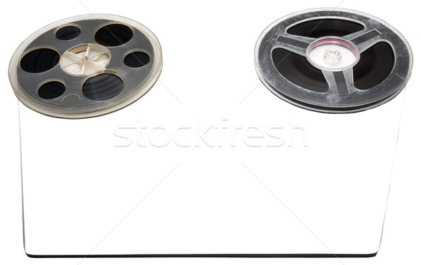 Old tape rollers Stock photo © blanaru