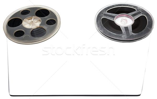 Old tape rollers Stock photo © blanaru