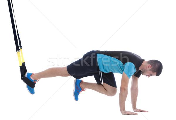 Functional exercises Stock photo © blanaru