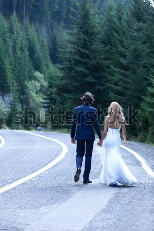 Forget about everything and run with me! Stock photo © blanaru