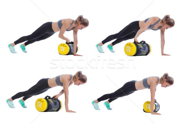 Core bag exercise Stock photo © blanaru