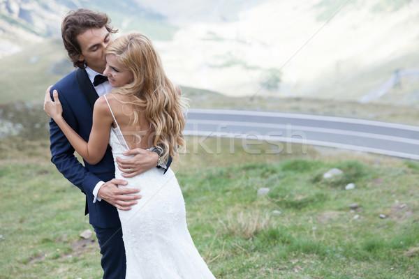 Embrace me with a kiss Stock photo © blanaru