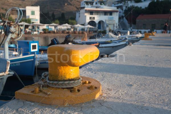 Sailing on the sea Stock photo © blanaru