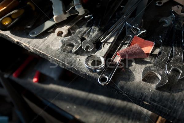 さびた ツール 小 アーキテクチャ ビジネス 木材 ストックフォト © blanaru