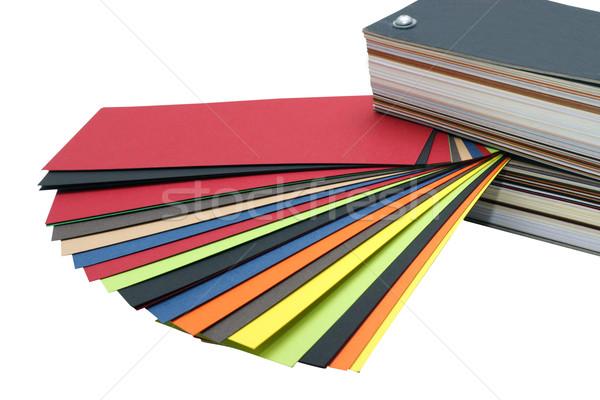Color guide Stock photo © blanaru