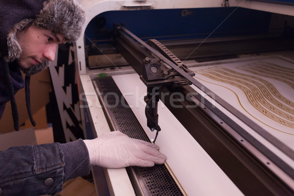 Dummy manufacturing workroom Stock photo © blanaru