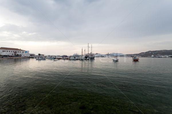Seaside landscape in Mykonos Stock photo © blanaru