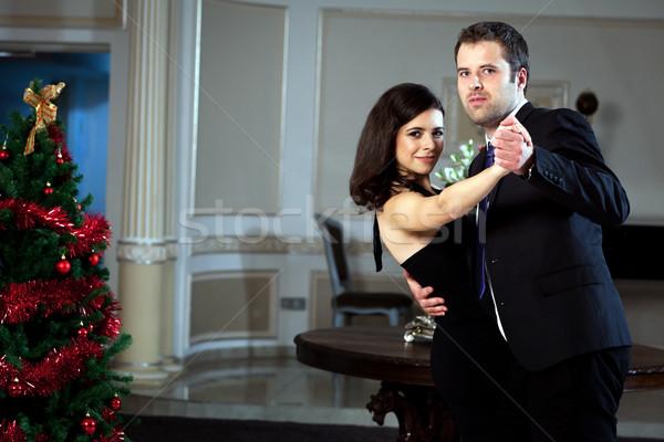 Danza hombre mujer baile tango ver Foto stock © blanaru