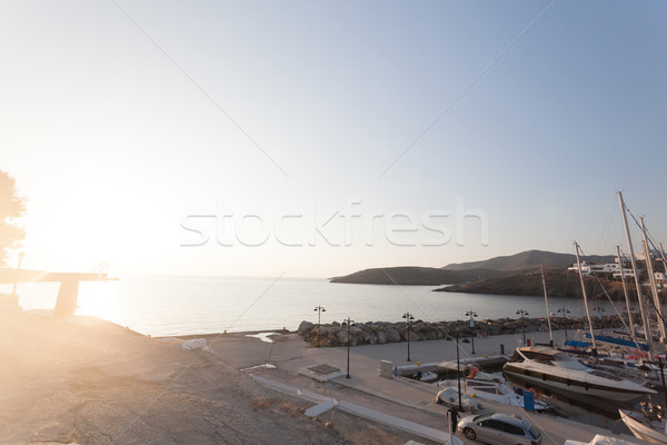 Greek holiday resort Stock photo © blanaru