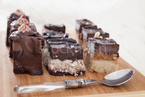 Vegan kek çok lezzetli kekler Stok fotoğraf © blanaru