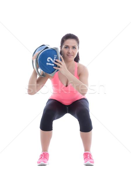 Core Exercises Stock photo © blanaru