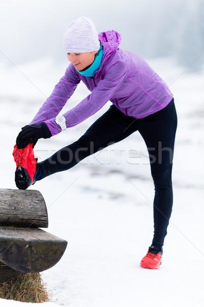女性 フィットネス 霊感 モチベーション ランナー スポーツ ストックフォト © blasbike