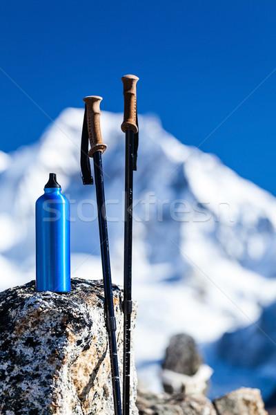 Escursioni himalaya himalaya montagna Nepal Foto d'archivio © blasbike