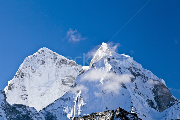 Himalayas landscape, Mount Ama Dablam Stock photo © blasbike