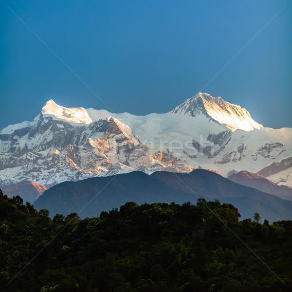 Mountains inspirational landscape view, Himalayas Stock photo © blasbike
