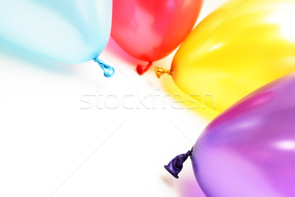 Plenty of colorful balloons Stock photo © blasbike