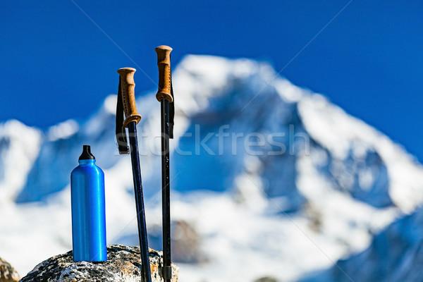 Stok fotoğraf: Yürüyüş · dişli · dağlar · seyahat