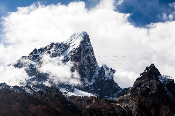 Гималаи гор пейзаж Непал горные Гималаи Сток-фото © blasbike
