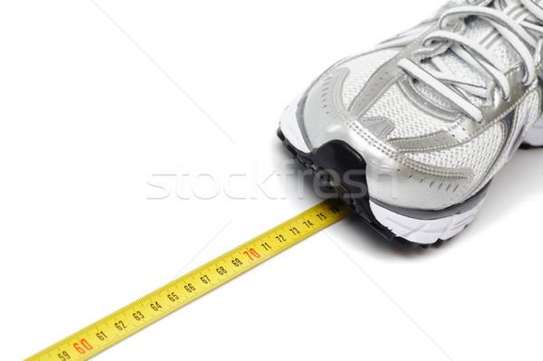 Photo stock: Courir · chaussures · centimètre · mode · sport · exercice