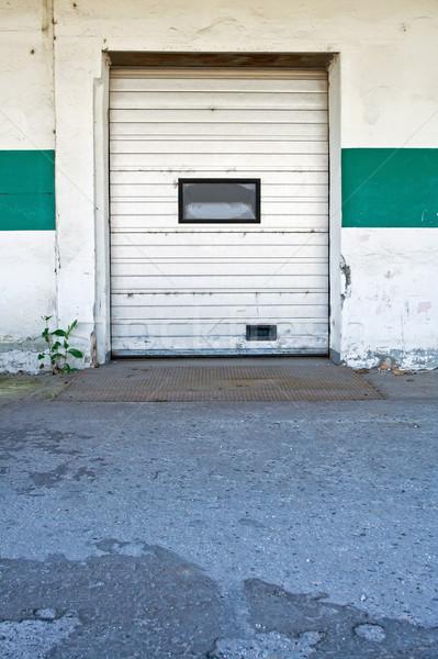 Dirty loading dock Stock photo © blasbike