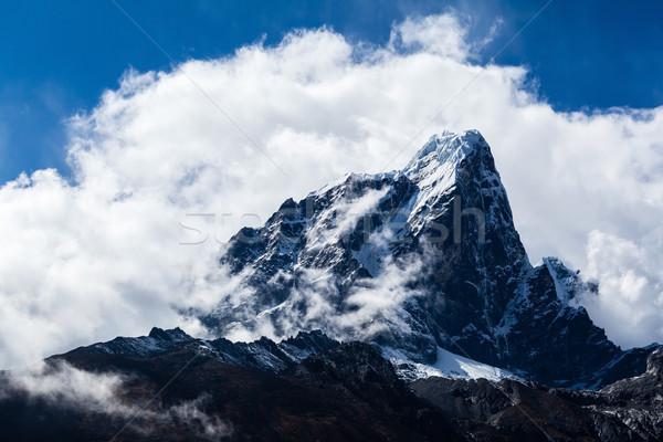Stok fotoğraf: Dağlar · manzara · Nepal · güzel · dağ