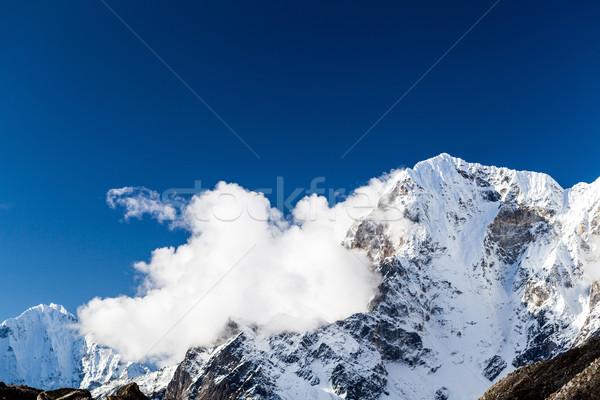 Himalaia montanhas Nepal belo alto montanha Foto stock © blasbike