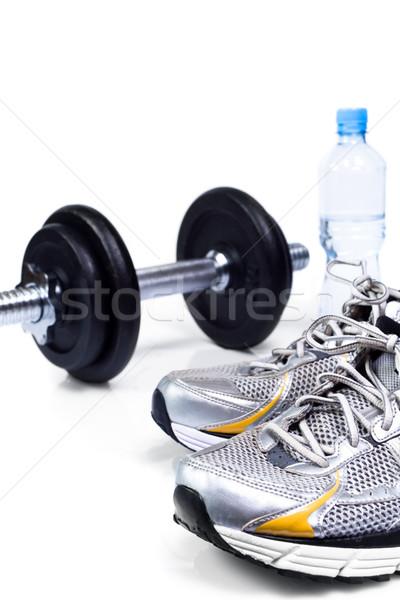 Permanecer encajar agua deporte fitness Foto stock © blasbike