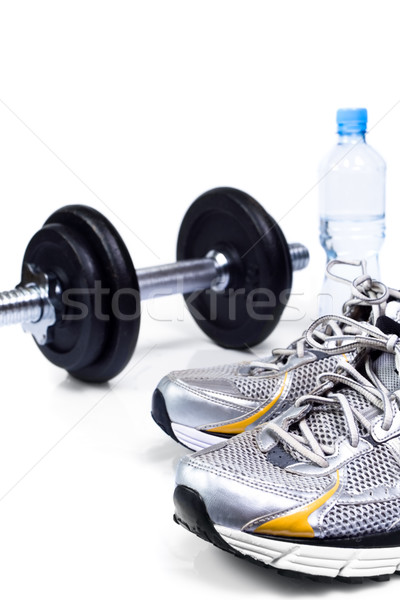 Ficar caber água esportes fitness Foto stock © blasbike