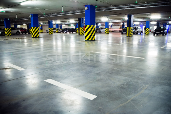 Photo stock: Métro · parking · garage · Shopping · centre · intérieur