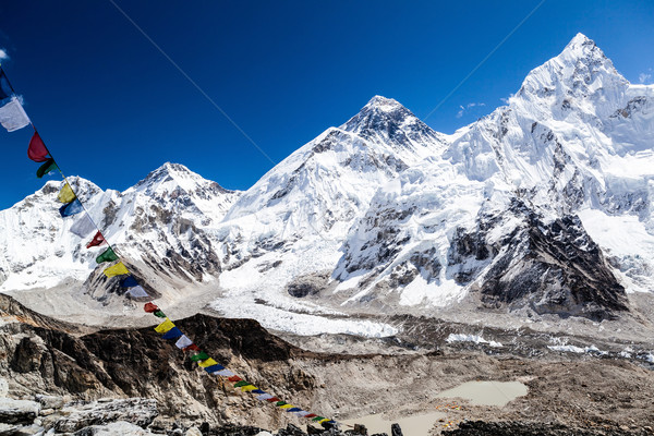Mount Everest mountains landscape Stock photo © blasbike