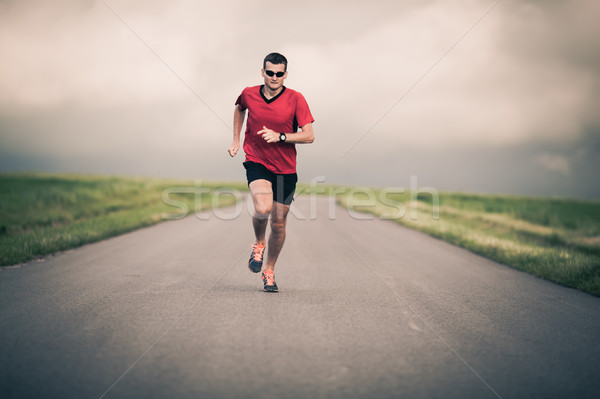 человека работает мотивация вдохновение подготовки Сток-фото © blasbike
