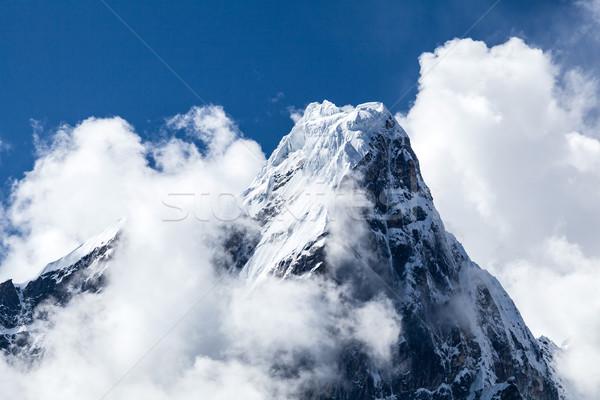 Himalaya Mountains landscape in Nepal Stock photo © blasbike