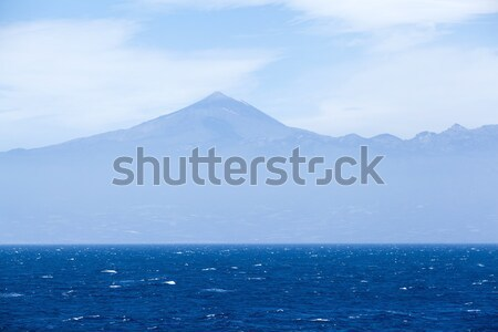 океана Тенерифе горные небе острове Канарские острова Сток-фото © blasbike