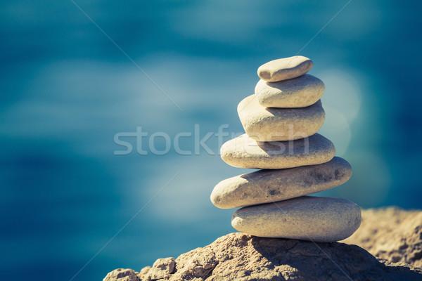 Balance spa wellness concept Stock photo © blasbike