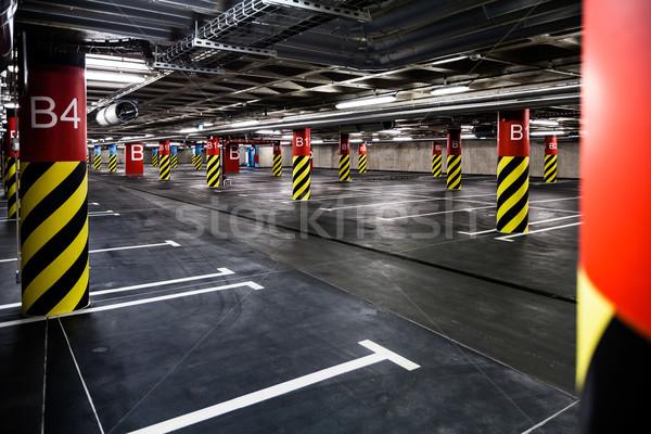 Parking garage underground interior Stock photo © blasbike
