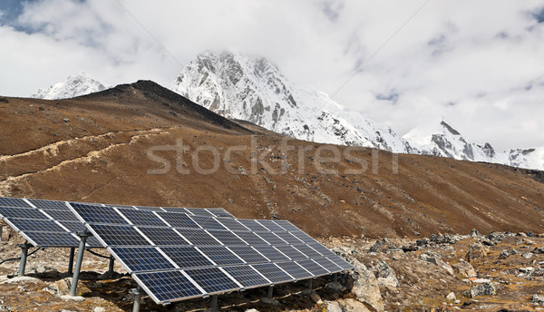 Gare montagnes Népal himalaya paysage Photo stock © blasbike