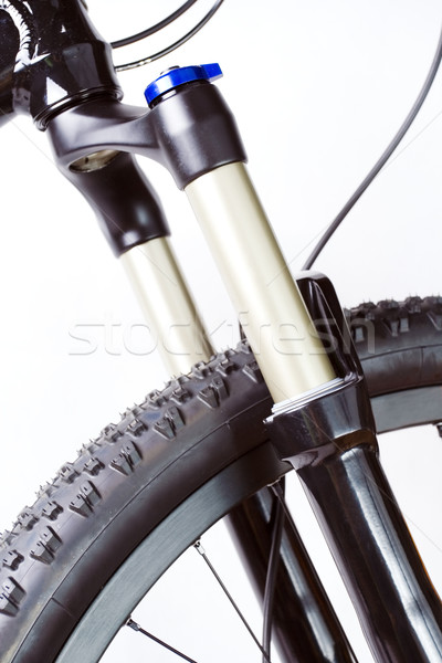 Mountain bike suspension fork Stock photo © blasbike