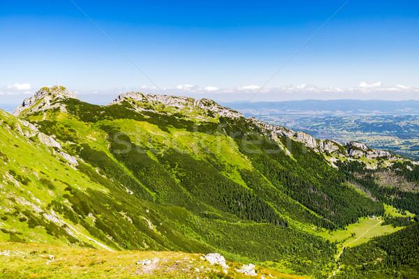 Stok fotoğraf: Dağlar · manzara · yaz · görmek