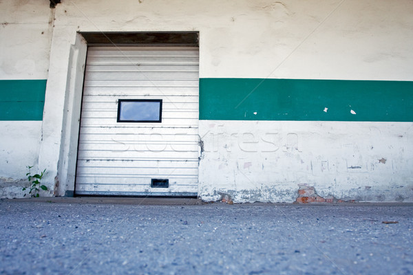 Stock photo: Dirty loading dock