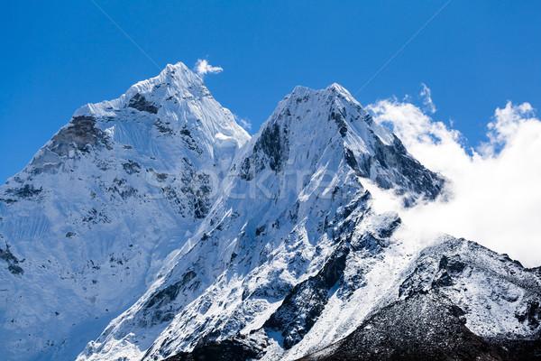 ストックフォト: ヒマラヤ山脈 · 山 · 風景 · ヒマラヤ山脈 · 山 · ネパール