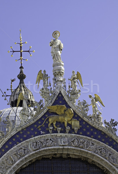 St. Mark Cathedral in Venice Stock photo © blasbike