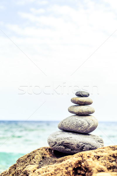 Stones balance inspiration wellness concept Stock photo © blasbike