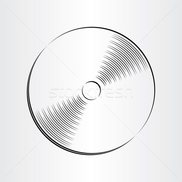compact disc dvd cd icon Stock photo © blaskorizov