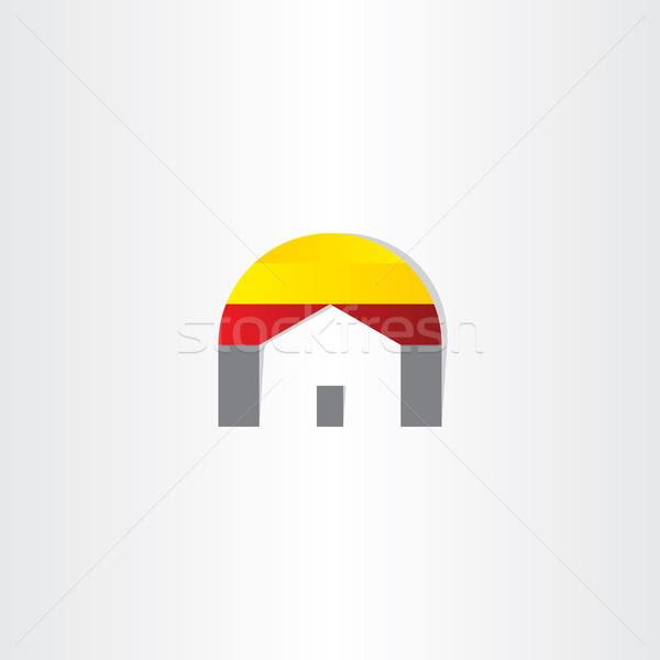 home real estate business icon Stock photo © blaskorizov