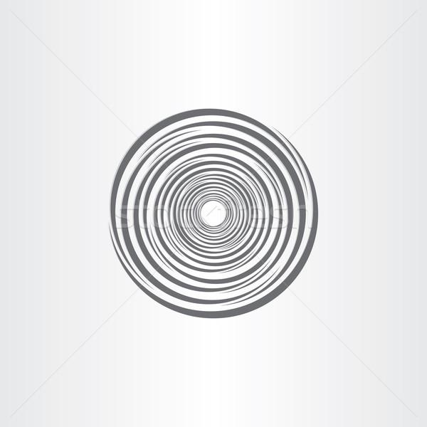 Espiral resumen círculo tornado diseno magia Foto stock © blaskorizov