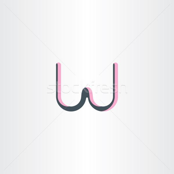 List w symbol projektu biuro streszczenie Zdjęcia stock © blaskorizov